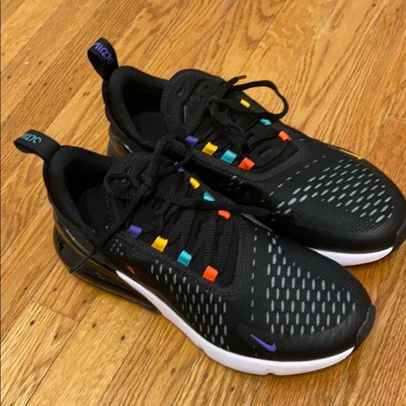 Nike Shoes   Black Rainbow Nike Air Max